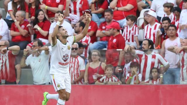 Roney fez o gol de empate para Sampaio Corrêa