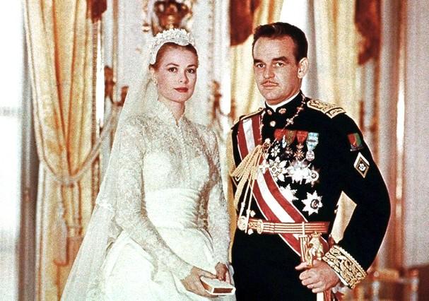 Grace Kelly e Rainier III, Príncipe de Mônaco  (Foto: Reprodução)