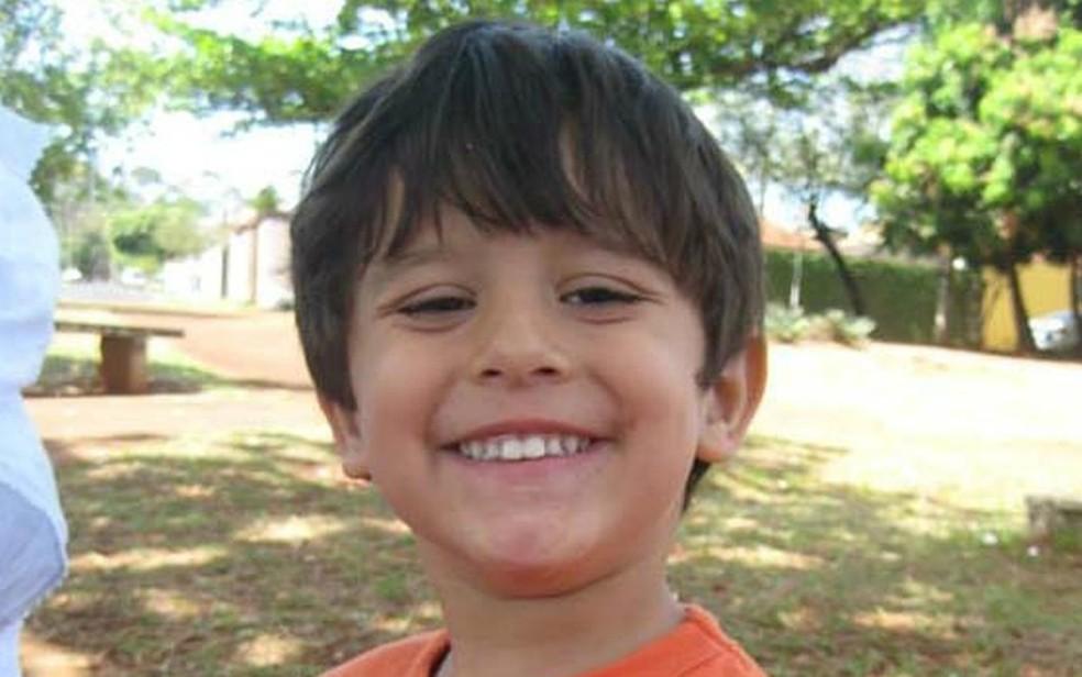 O menino Joaquim Ponte Marques foi encontrado morto cinco dias após desaparecer da casa onde morava em Ribeirão Preto (Foto: Reprodução)