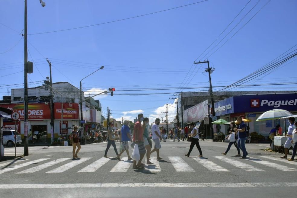 Comércio do Alecrim, Natal, RN — Foto: Pedro Vitorino/Cedida