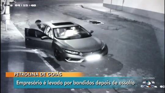 Justiça mantém prisão de dupla suspeita de assaltar e sequestrar empresário em Petrolina de Goiás