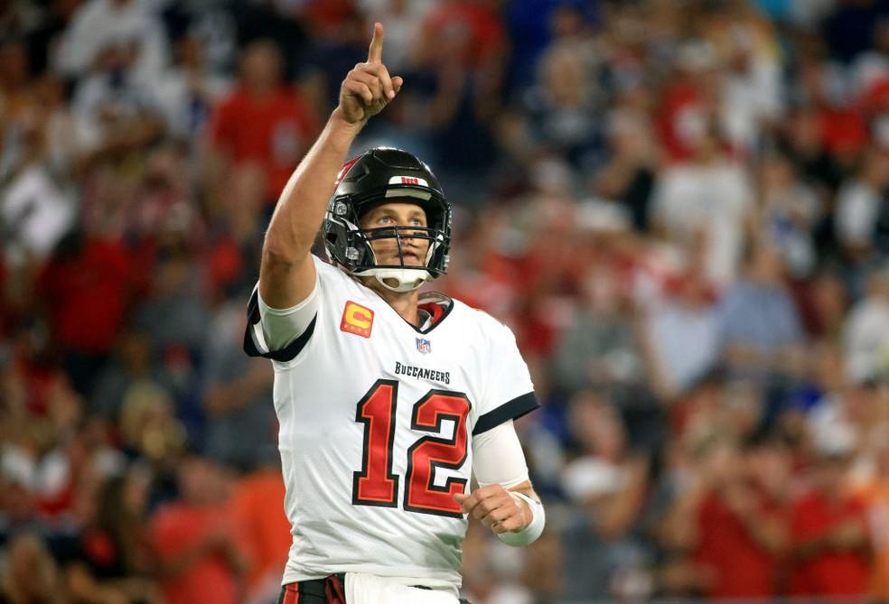 Tom Brady — Foto: Mike Ehrmann/Getty Images