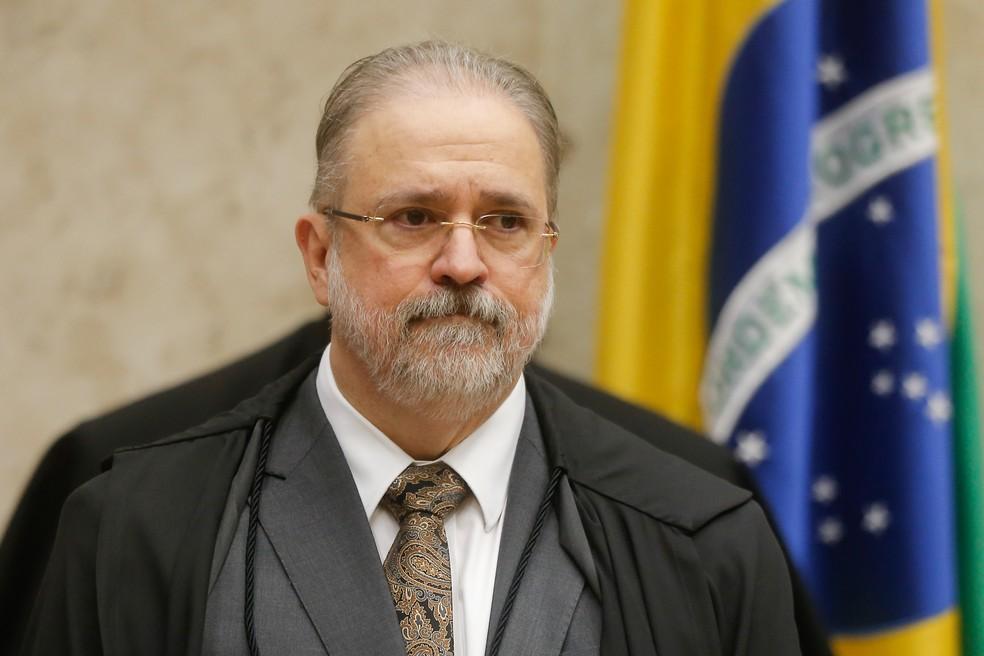 O procurador-geral da República, Augusto Aras — Foto: Dida Sampaio/Estadão Conteúdo
