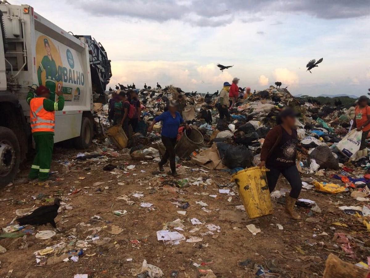 Ação retira 20 pessoas do lixão de Boa Vista após decisão judicial