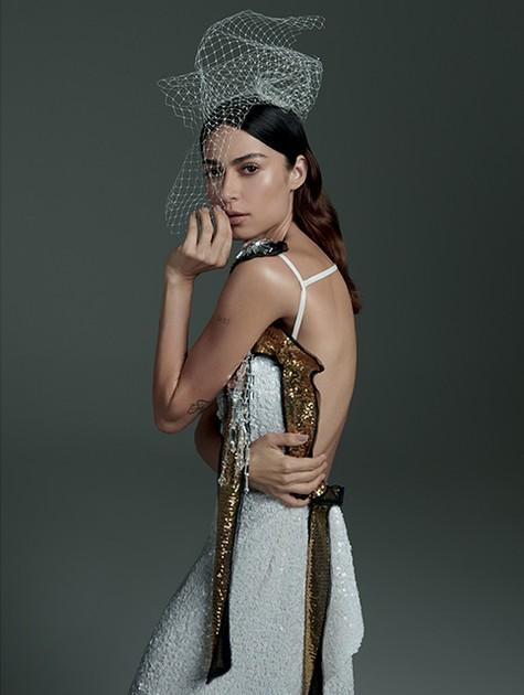 Thaila Ayala na 'Vogue noiva' (Foto: Fabio Bartelt)