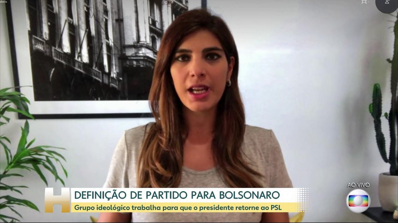 Grupo ideológico reage à ideia de Bolsonaro em sigla do Centro e trabalha por volta ao PSL