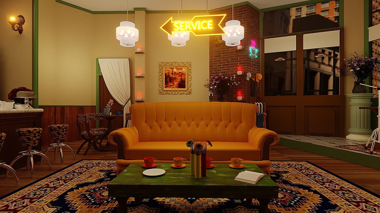 Casa Warner cria exposição imersiva no universo de Friends (Foto: Divulgação)