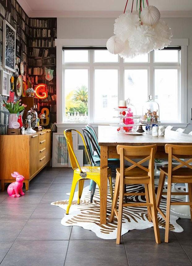 10 salas de jantar com cadeiras diferentes (Foto: divulgação)