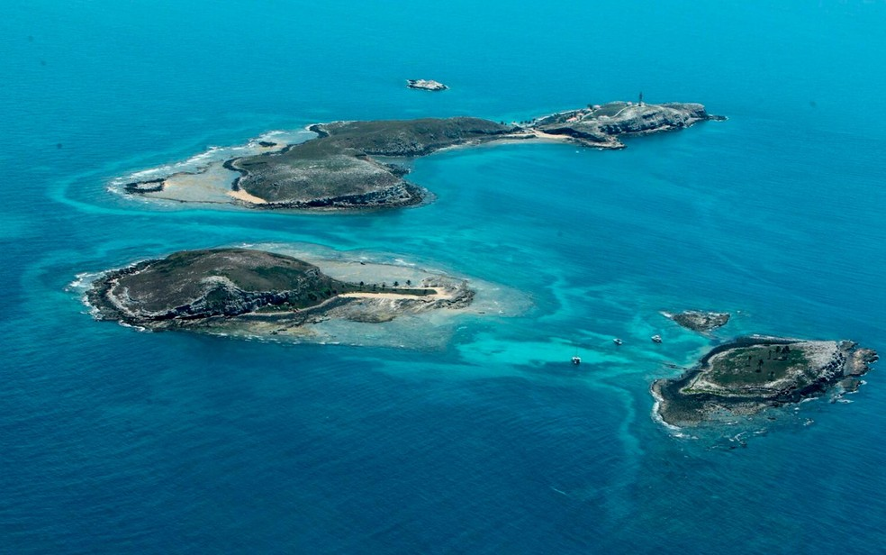 Região de Abrolhos, na Bahia. — Foto: Manu Dias/GOVBA