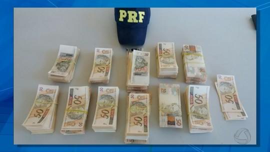 Jovem é preso com R$ 112 mil em notas falsas em MS que seriam levados para MG