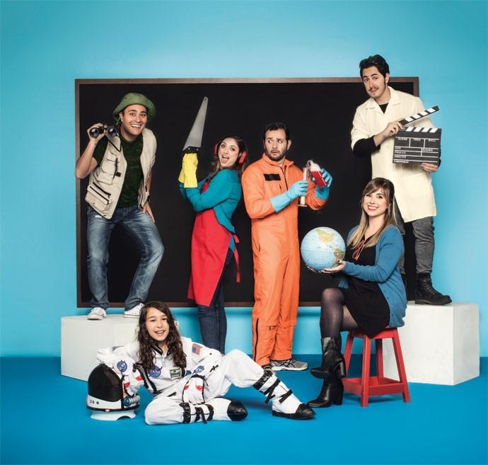 Youtubers (Foto: Julia Rodrigues e Tomás Arthuzzi)