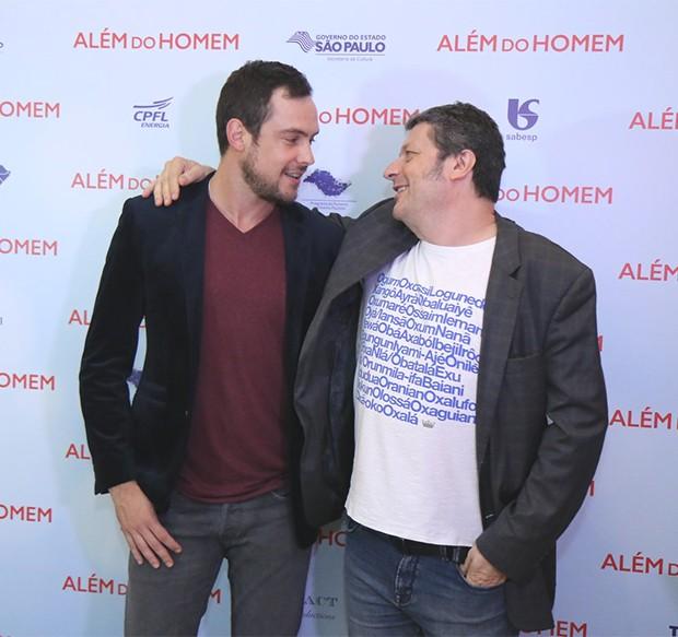 Sérgio Guizé e Willy Biondani (Foto: AgNews)