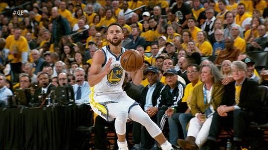 Stephen Curry confessa que foi estranho jogar contra o irmão Seth Curry nos playoffs da NBA