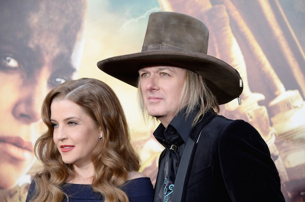 Lisa Marie Presley e o ex-marido, Michael Lockwood (Foto: Getty Images)