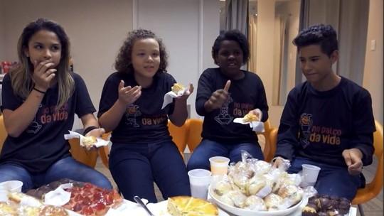 Crianças falam sobre sonhos e  realidade no 'Conversa com Bial'