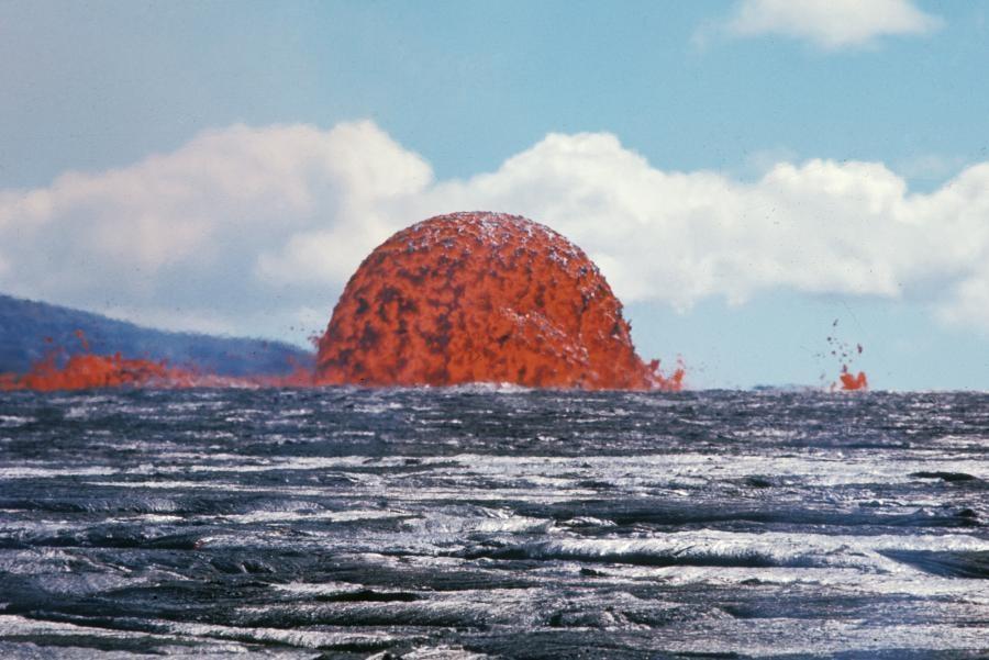 vulcão (Foto: Reprodução/USGS)