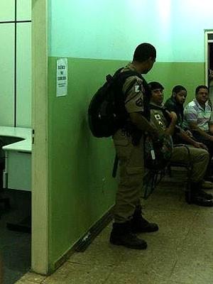 Emicida preso por desacato a autoridade em delegacia de Belo Horizonte (Foto: Júlia Moysés/Arquivo Pessoal)