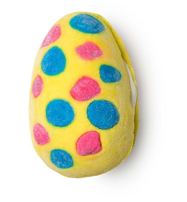Espuma de banho Cream Egg. Da LUSH, R$ 29 (Foto: Divulgação)