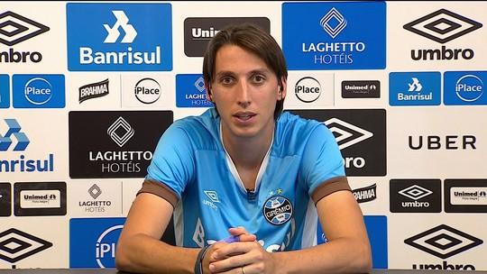 Pedro Geromel fala sobre a convocação de Tite para a Seleção Brasileira