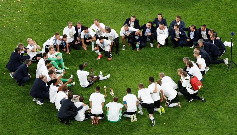 Campeã da Copa das Confederações, Alemanha está de volta à liderança do ranking da Fifa (Foto: REUTERS/Maxim Shemetov)