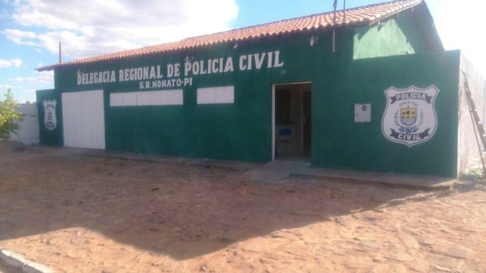 Delegacia regional de São Raimundo Nonato apura morte de mulher — Foto: São Raimundo.com