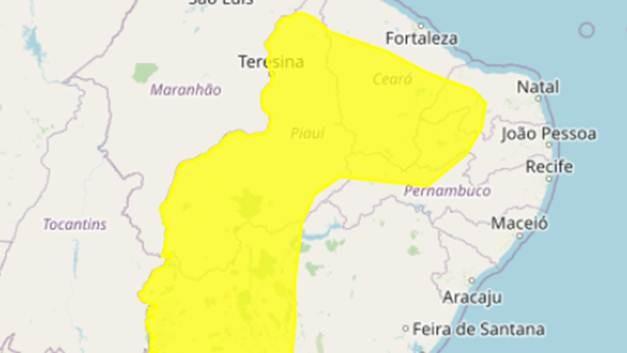 Inmet emite alerta de baixa umidade para 85 cidades da Paraíba