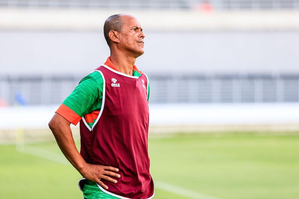 Joécio Barbosa deixou o Coruripe neste mês — Foto: Ailton Cruz/Gazeta de Alagoas