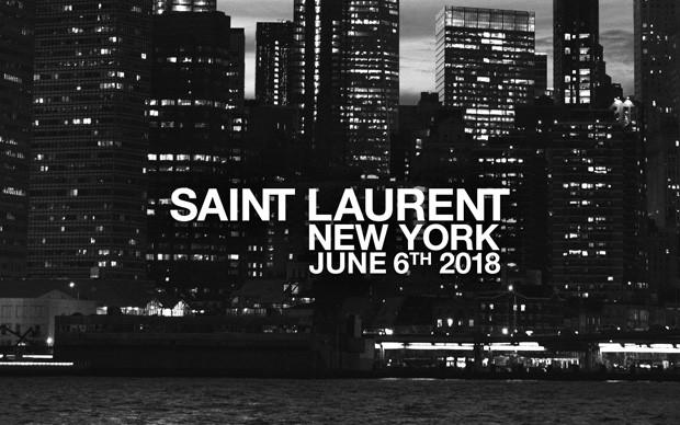 O desfile masculino da Saint Laurent acontece nesta quarta-feira (Foto: Divulgação)