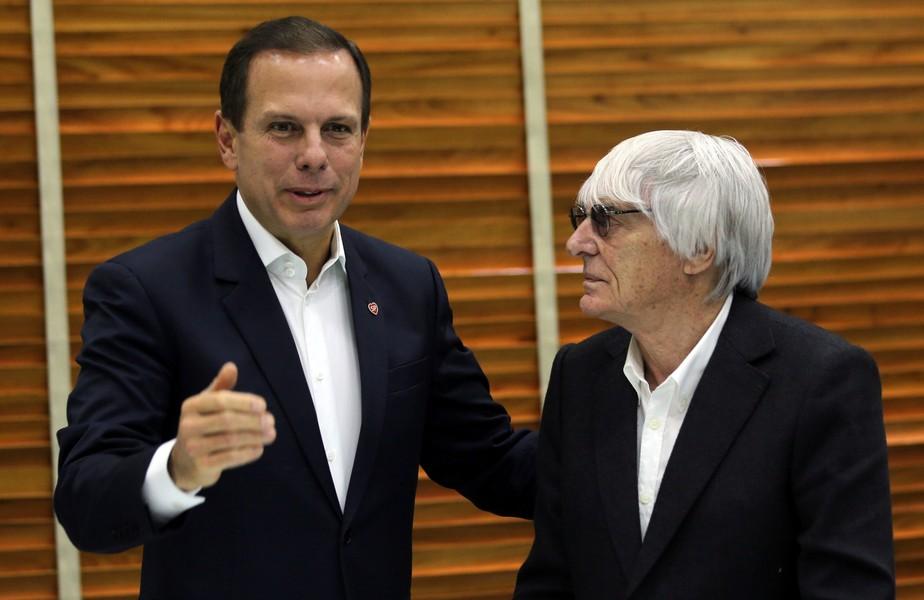 Doria confirma venda de Interlagos e diz que Ecclestone participará de leilão