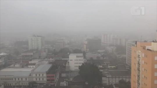 Temporal causa transtornos em cidades do Rio Grande do Sul