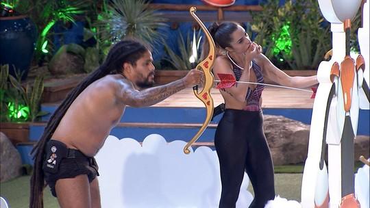 Viegas comenta sobre disciplina de Paula em Prova do Anjo