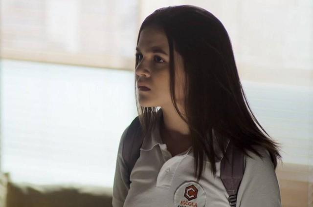 Mel Maia é Cássia em 'A dona do pedaço' (Foto: Reprodução)