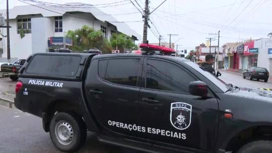 Suspeita de explosivos em agência da Caixa interdita ruas em Rio Branco