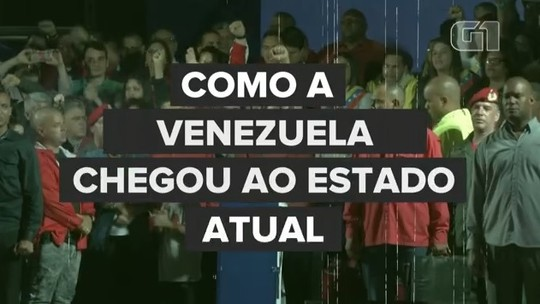 Como a Venezuela chegou ao estado atual
