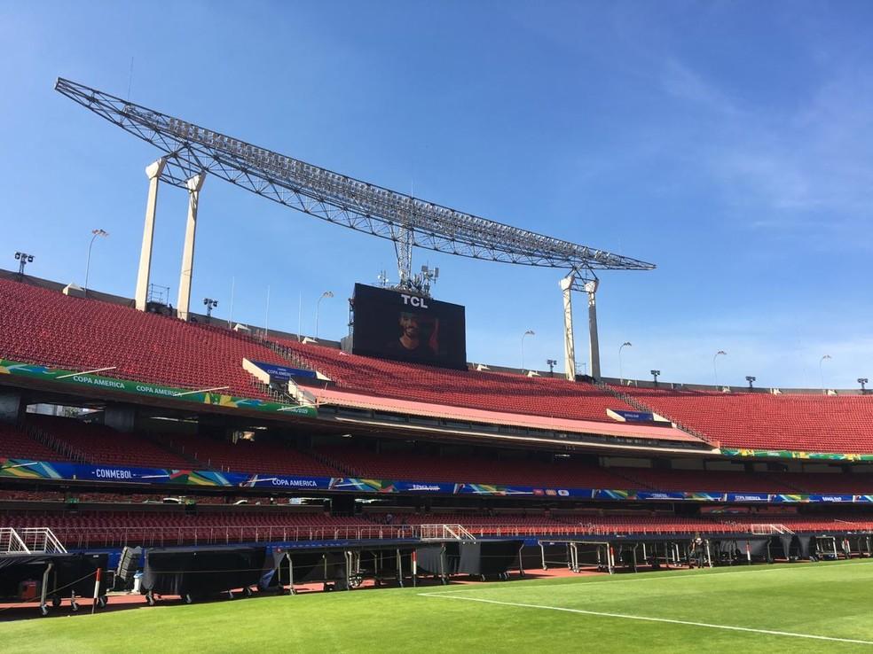 Morumbi receberá o jogo de abertura da Copa América — Foto: Leonardo Lourenço