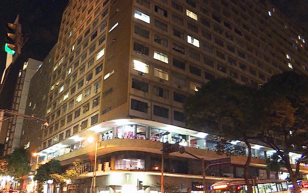 Segundo a Justiça, os entorpecentes eram vendidos na região do Edifício Maletta, no Centro de BH — Foto: Reprodução/TV Globo