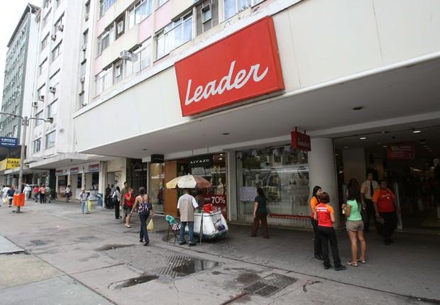Leader, loja de varejo, varejista (Foto: Agência O Globo)