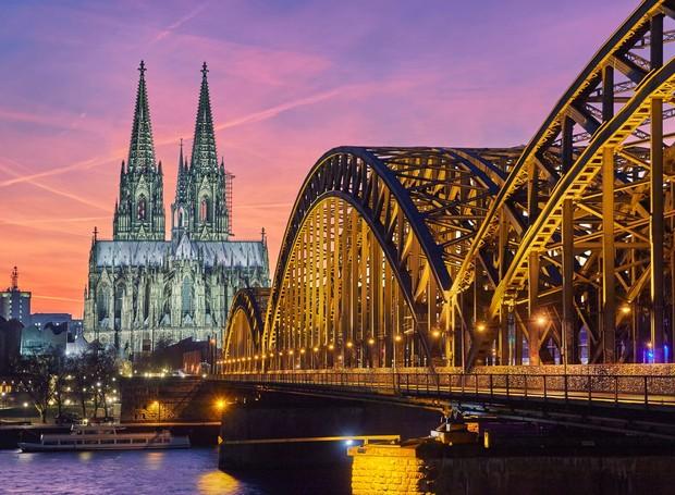 Colônia - Alemanha (Foto: Reprodução/ Shutterstock)
