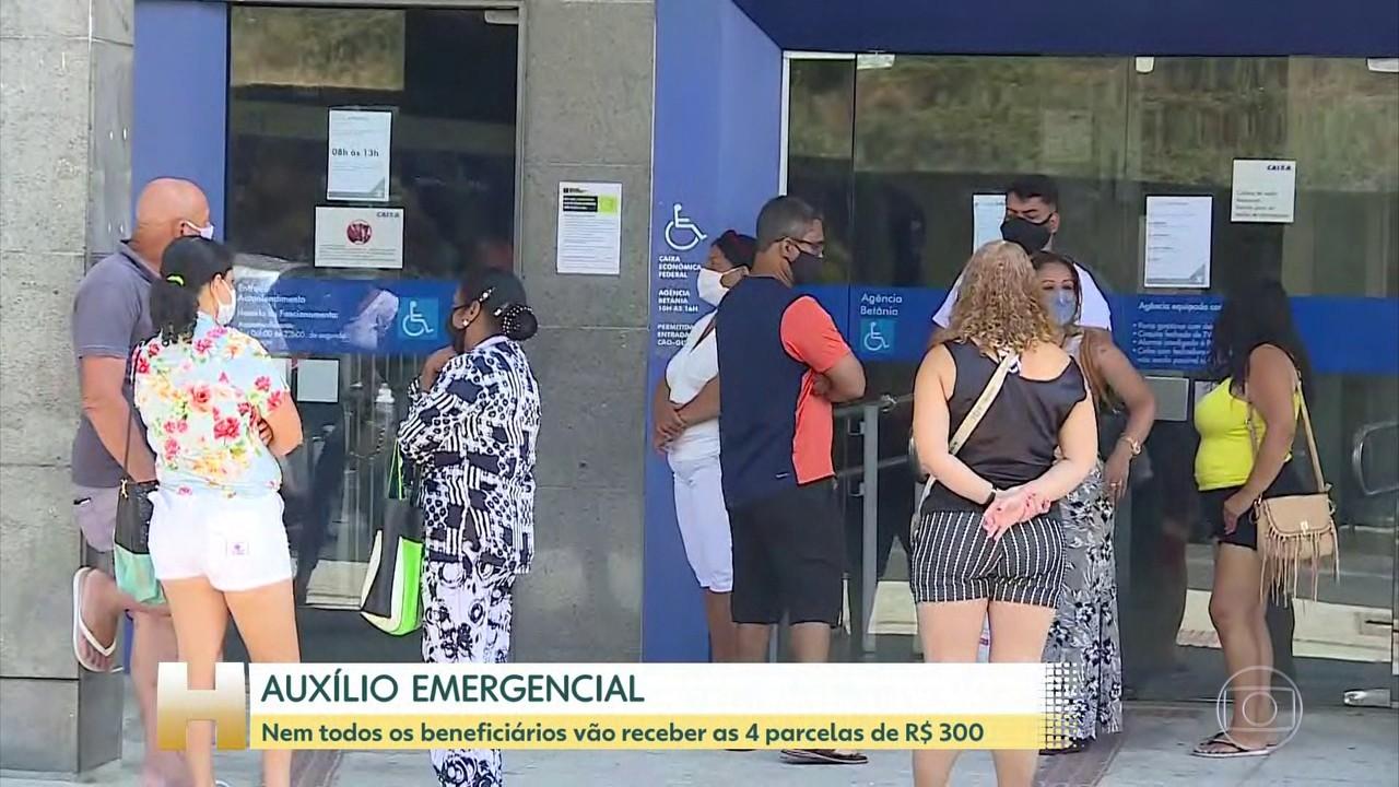 Beneficiários que começaram a receber após abril terão direito a menos parcelas de R$300