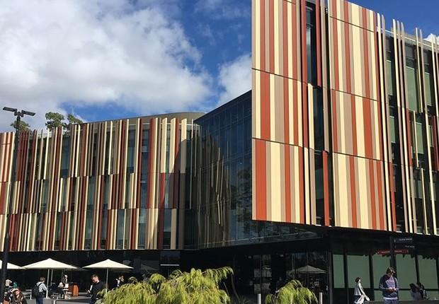 Universidade Macquarie, na Austrália (Foto: Reprodução/Instagram)