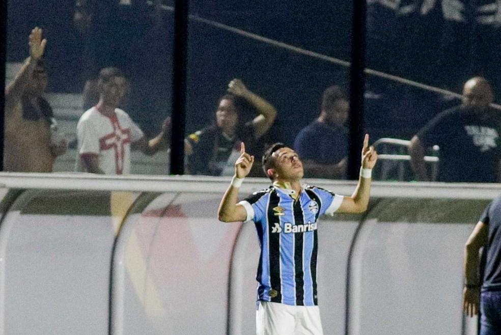 Pepê é uma das afirmações do Grêmio em 2019 — Foto: Grêmio FBPA/Divulgação