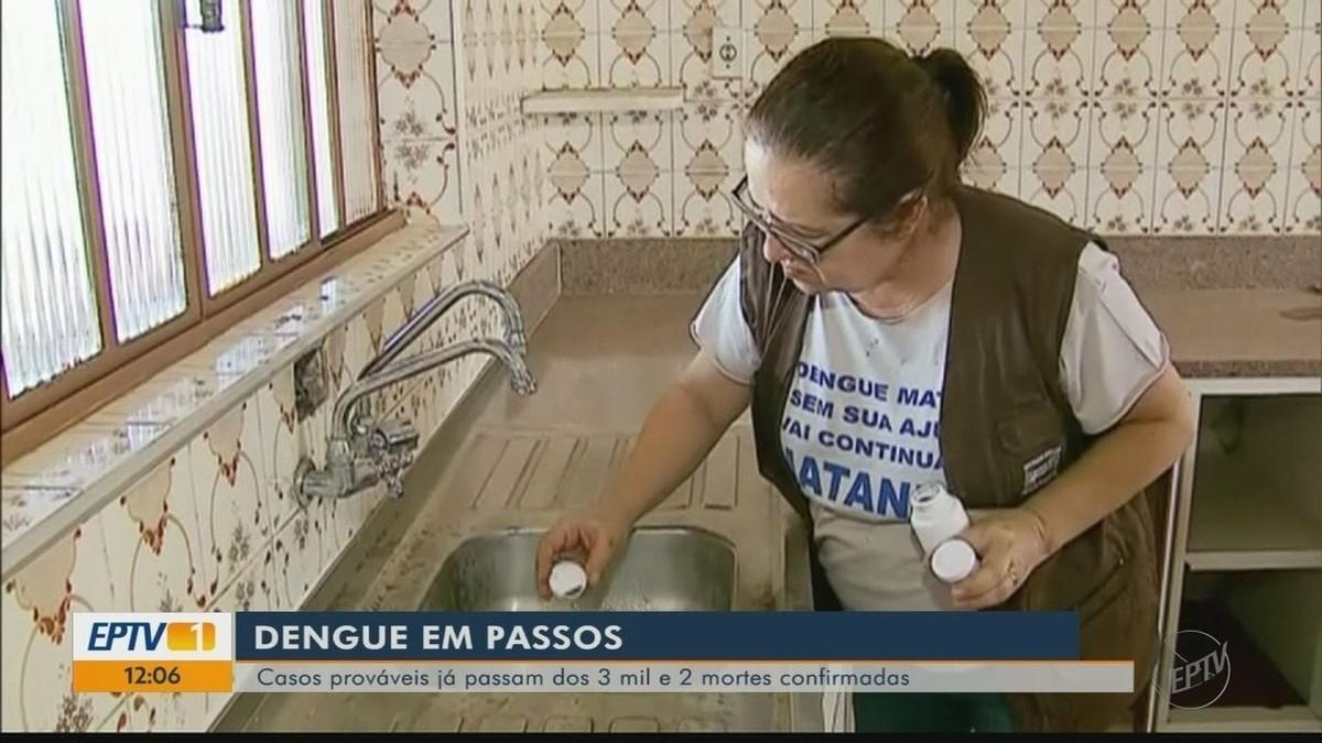 Líder em número de casos, Passos intensifica combate à dengue em imóveis fechados - G1