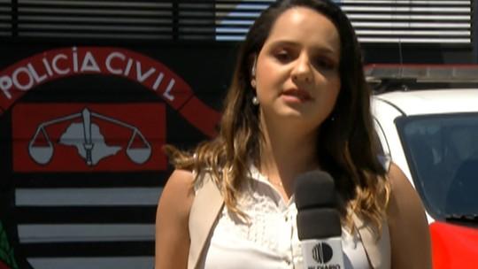Câmera de monitoramento de posto de combustíveis deve ajudar a identificar quinto suspeito de participar de roubo de moto, em Itaquaquecetuba