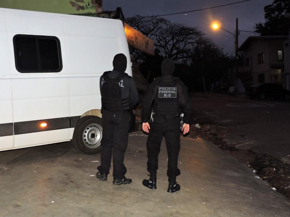PF faz 'Operação Troia' contra grupo criminoso e prende 20 pessoas no Acre — Foto: Arquivo/PF-AC
