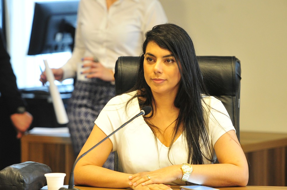 Cláudia Pereira (PSC) foi eleita deputada estadual em 2014 — Foto: Pedro de Oliveira/Alep