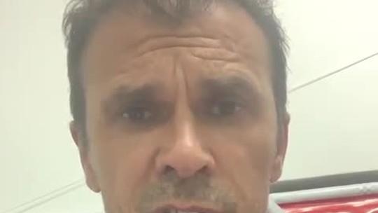 Em vídeo, Milton Mendes pede desculpas a torcedores do Náutico por citar Batalha dos Aflitos