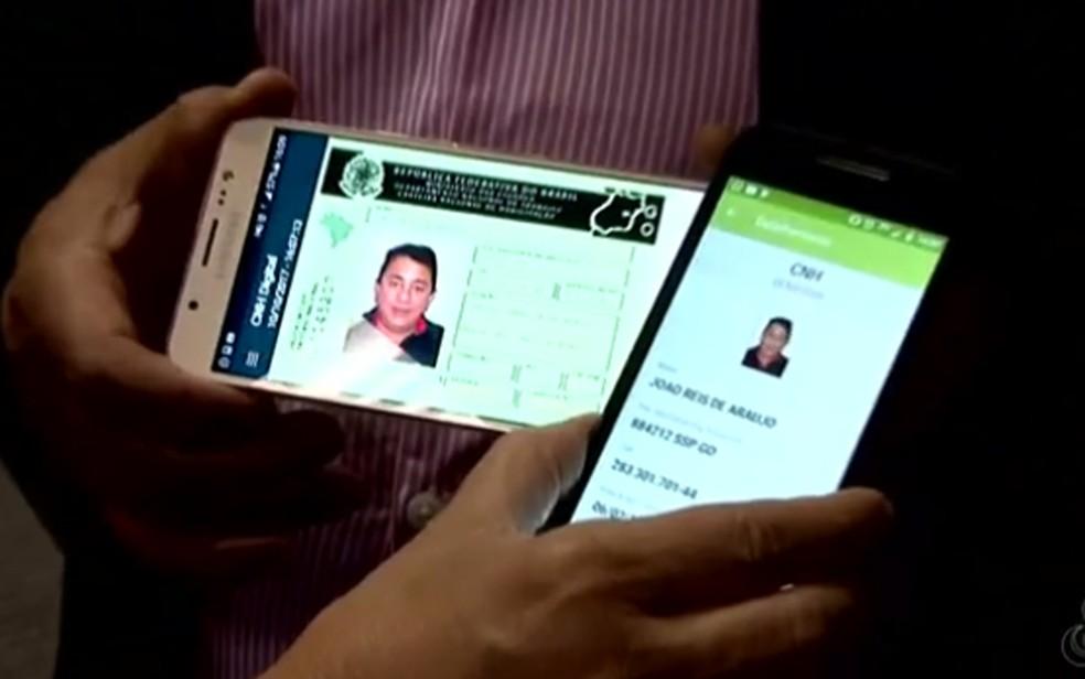 -  Rondônia já emitiu duas mil Carteiras Nacionais de Habilitação Eletrônicas, segundo Detran-RO  Foto: TV Globo