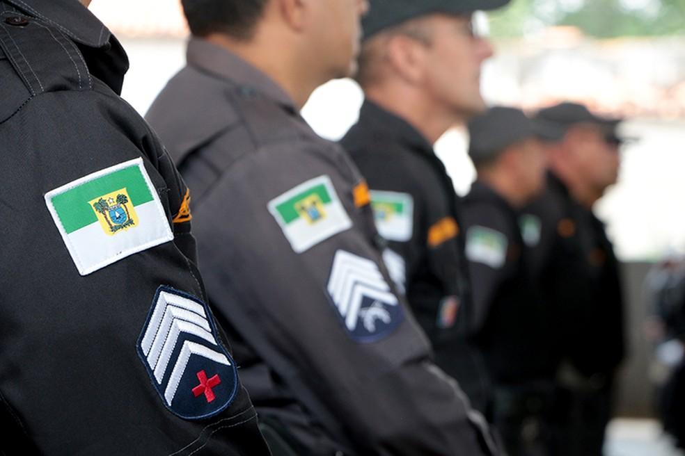 Polícia Militar do Rio Grande do Norte (Foto: Demis Roussos/Governo do RN)