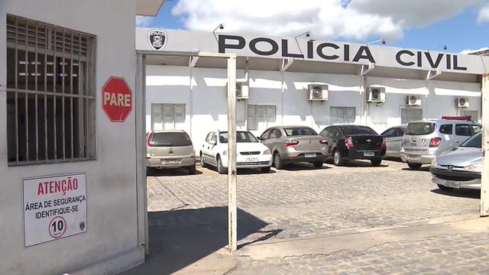 Caso foi registrado na Central de Polícia de Campina Grande — Foto: Reprodução/TV Paraíba
