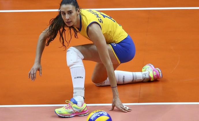 Sheilla vôlei feminino (Foto: Marcelo del Pozo/Reuters)